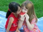 picknick meisjes
