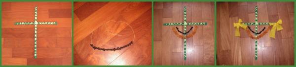 Stap 3 palmpasenstok slingers en strikken