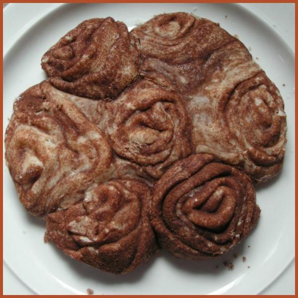 glutenvrije rozenkoek